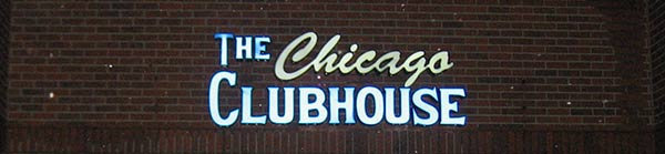 The Chicago Clubhouse Outdoor Electric Sign